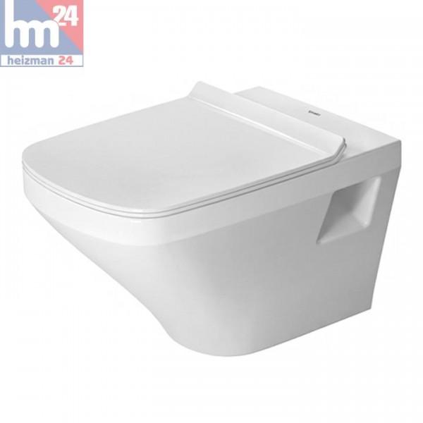 Duravit DuraStyle Wandtiefspül-WC Rimless® / spülrandlos 2538090000 inkl. WC-Sitz