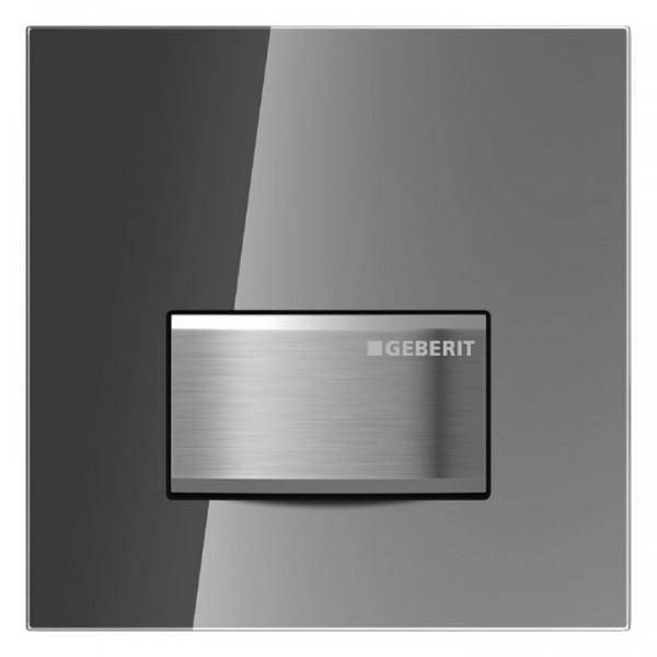 Geberit Urinalsteuerung Sigma50 mit pneumatischer Spülauslösung Rauchglas verspiegelt 116.016.SD5