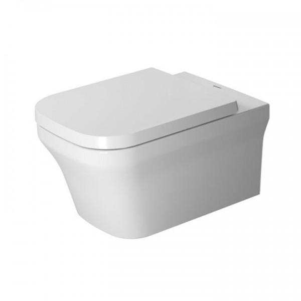 Duravit P3 Comforts Wandtiefspül-WC Rimless®/spülrandlos inkl. WC-Sitz 2561090000