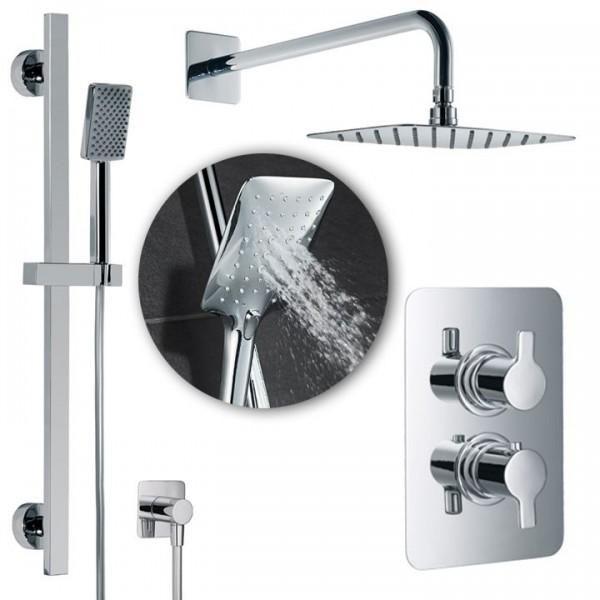 HSK Shower-Set Softcube 2.05 inkl. Brausethermostat Unterputz 1000205