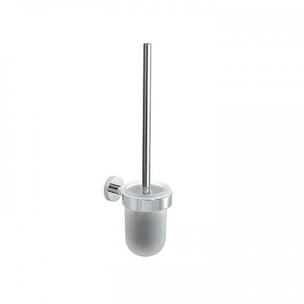 Bravat Varuna Chrom WC-Wandgarnitur 779310 Toiletten-Bürstenhalter