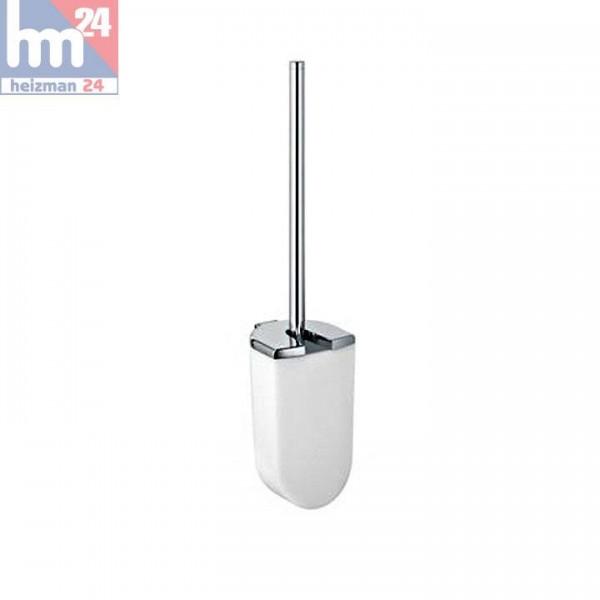 Keuco ELEGANCE Toilettenbürstengarnitur mit Opak-Kunststoff-Einsatz 11664010100