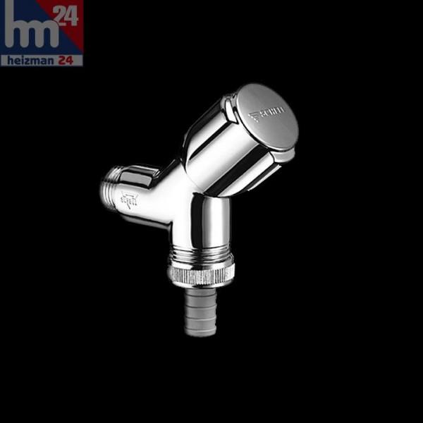 Schell Geräteschrägsitzventil DN 15 Comfort 033860613 chrom ohne Rohrbelüfter