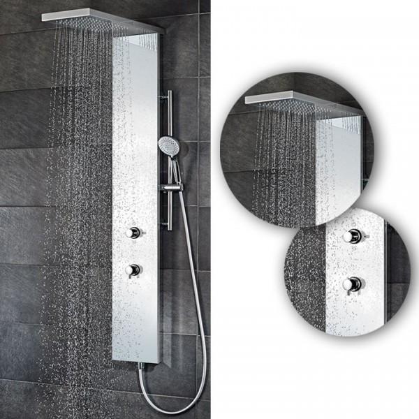 HSK Duschpaneel Lavida Plus inkl. Regentraverse ohne Schwallfunktion in 2 Farbtönen 1900018
