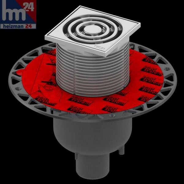 TECE drainpoint S 130 Ablaufset DN 50 senkrecht mit Seal System 3601300