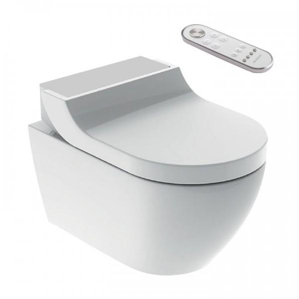 Geberit AquaClean Tuma Comfort Dusch-WC spülrandlos 146.290.FW.1 Edelstahl gebürstet