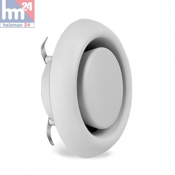 Helios KTVA 125 Kunststoff-Tellerventil für Abluft 942