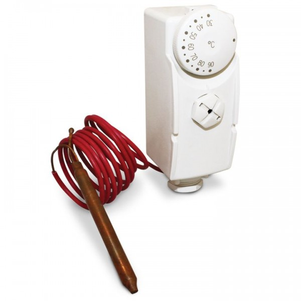 Salus AT10F Rohranlegethermostat 114104 mit Fernfühler