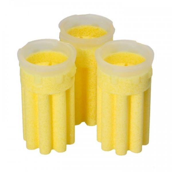 3 Stück Heizölfiltereinsatz mit vergrößerter Oberfläche 50 µm Sinterkunststoff