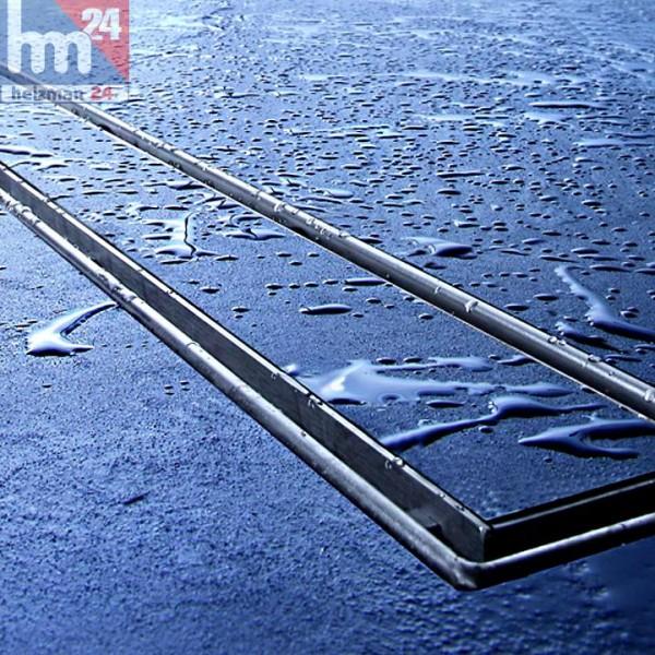 TECE drainline Duschrinne 1000 mm 601000 inkl. Fliesenmulde mit Ablauf und Montagefüße