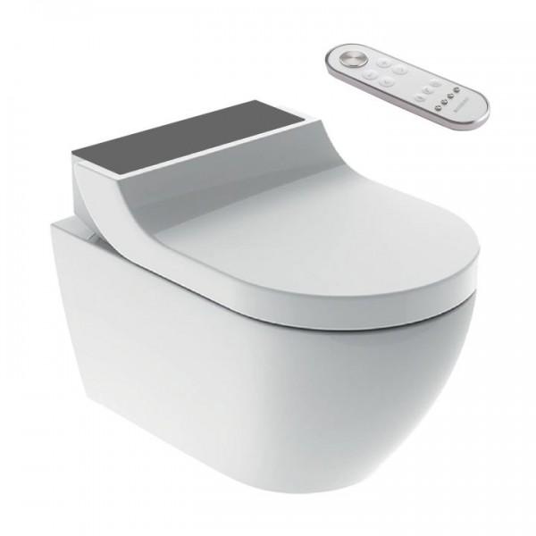 Geberit AquaClean Tuma Comfort Dusch-WC spülrandlos 146.290.SJ.1 Glas Schwarz