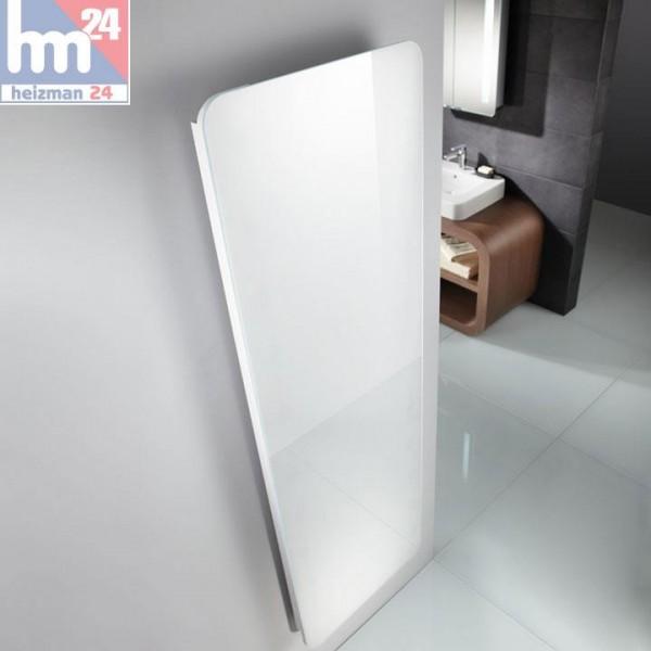 HSK Designheizkörper Softcube mit Glasfront 570x1800 mm mit Mittelanschluss