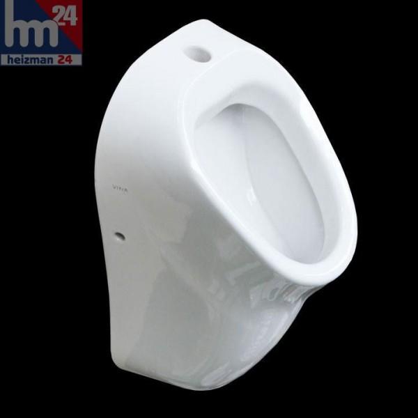 Vitra Urinal in weiß mit Zulauf von oben 6202L003D0202