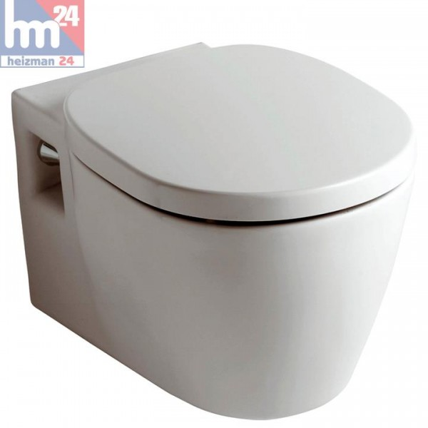 Ideal Standard Connect Wandtiefspülklosett inkl. WC-Sitz optional mit Ideal Plus und Softclosing