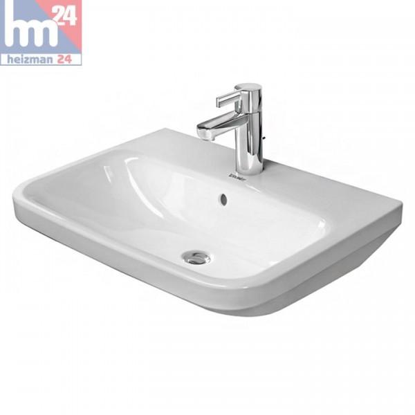 Duravit DuraStyle Waschtisch / Waschbecken 55 x 44 cm WonderGliss in weiß 23195500001