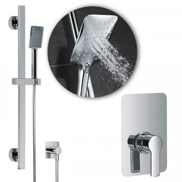 HSK Shower Set Softcube 2.22 inkl. Einhebel-Brausearmatur 1000222