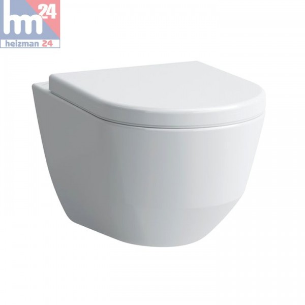 Laufen Pro S Wandtiefspül-WC spülrandlos 8209660000001 inkl. WC-Sitz optional mit SoftClose