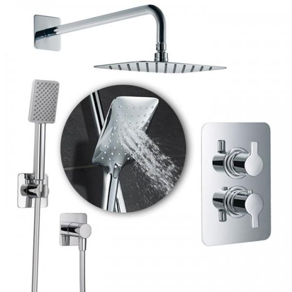 HSK Shower-Set Softcube 2.04 inkl. Brausethermostat Unterputz 1000204