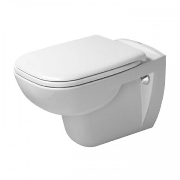 Duravit D-Code Wandtiefspül-WC 2570090000 Rimless® spülrandlos inkl. WC-Sitz