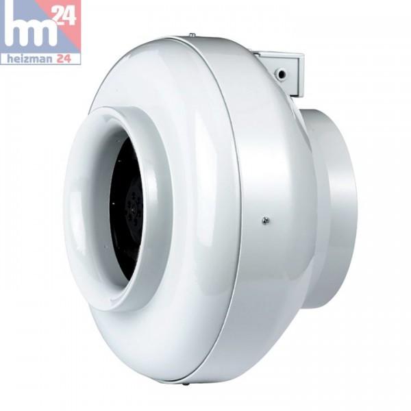 Helios Radialrohrventilator RRK 125 InlineVent 5974 DN125
