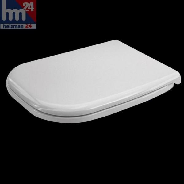 Duravit D-Code WC-Sitz in weiß mit Absenkautomatik / SoftClose 0067390000