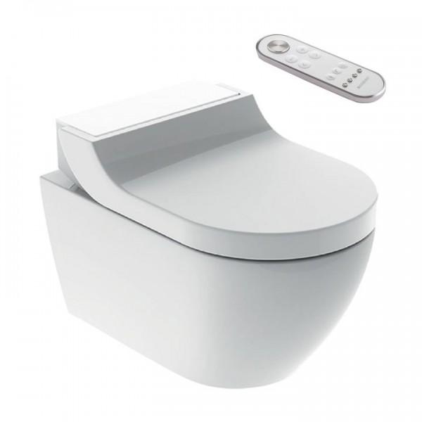 Geberit AquaClean Tuma Comfort Dusch-WC spülrandlos 146.290.SI.1 Glas Weiß