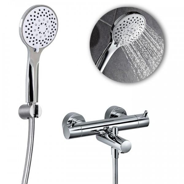 HSK Shower Set 1.09 inkl. Thermostatarmatur Aufputz 1000109