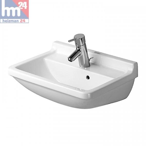 Duravit Starck 3 Waschtisch / Waschbecken 50 x 36 cm 0300500000 optional mit Halbsäule