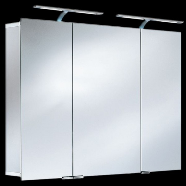HSK ASP 300 LED-Spiegelschrank 105x75 cm aus Aluminium 1143105