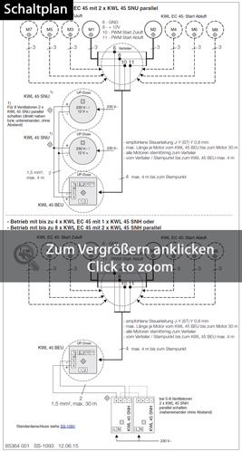 Helios KWL EC 45 EcoVent Verso Lüftereinheit Set 3011 für ...