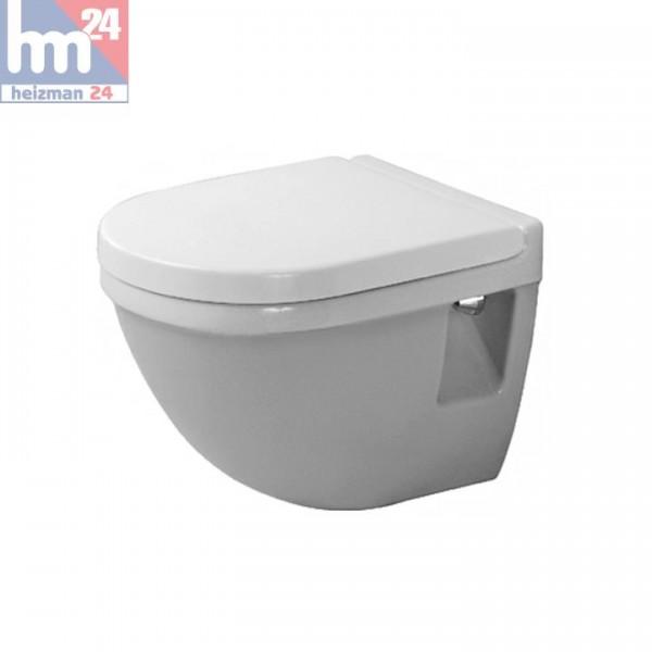 Duravit Starck 3 Wandtiefspül-WC Compact 2202090000 inkl. WC-Sitz optional mit SoftClose