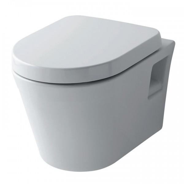 TOTO Public ES Wandtiefspül-WC spülrandlos CW797 inkl. WC-Sitz SoftClose