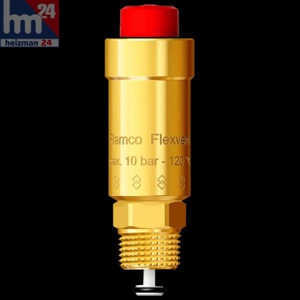 """Flamco Flexvent automatischer Schwimmerentlüfter 3/8"""" AG 27750 oder 1/2"""" AG 27740"""