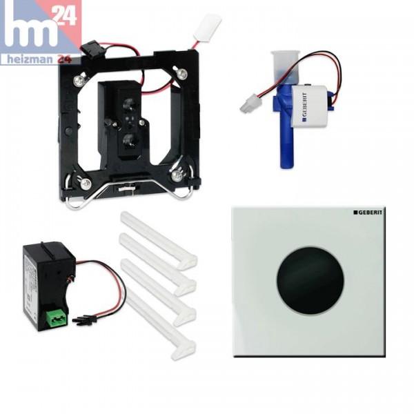 Geberit Urinalsteuerung Sigma01 mit elektronischer Spülauslösung weiß-alpin 116.021.11.5