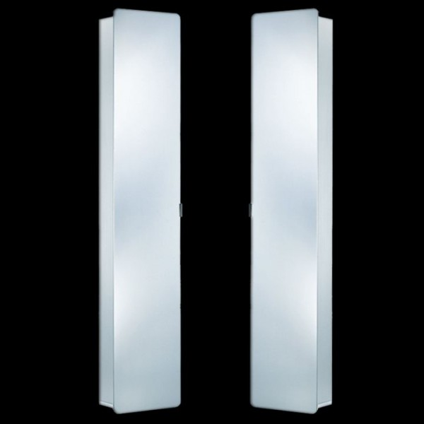 HSK ASP 300/500 Spiegelschrank/Hochschrank 35x175 cm aus Aluminium 1101035