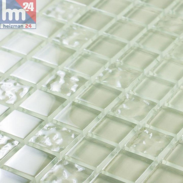 Glasmosaik Crystal Son Macia Mosaikfliesen Transparent F Pool