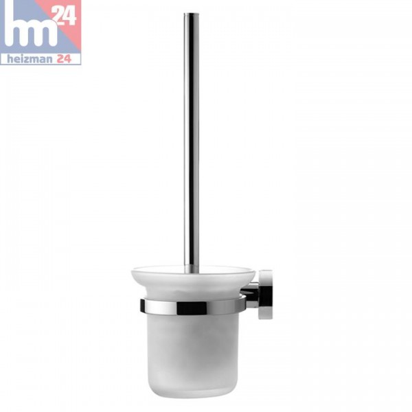Duravit D-Code WC-Bürstengarnitur in chrom und Glass matt 0099271000