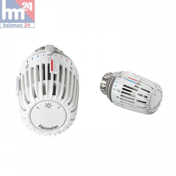 IMI HEIMEIER Thermostat-Kopf K mit eingebautem Fühler inkl. zwei Sparclips 6000-00.500