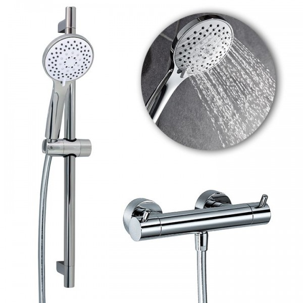 HSK Shower Set 1.01 inkl. Thermostatarmatur 1000101