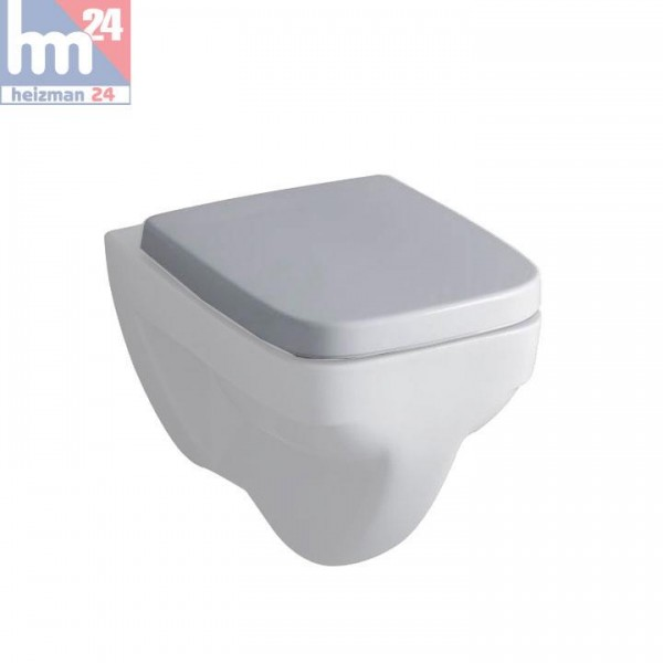 Keramag RENOVA Nr.1 Plan Tiefspül-WC KeraTect weiß wandhängend 202150600