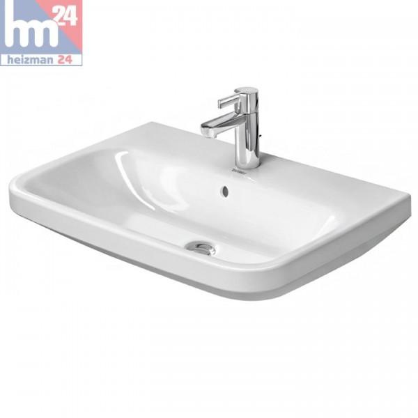 Duravit DuraStyle Waschtisch / Waschbecken 65 x 44 cm WonderGliss in weiß 23196500001