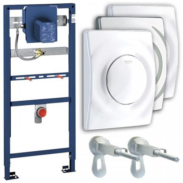Grohe Urinalset Rapid SL Vorwandelement Rapido U 38786001 inkl. Wandwinkel u. Urinalsteuerung Surf