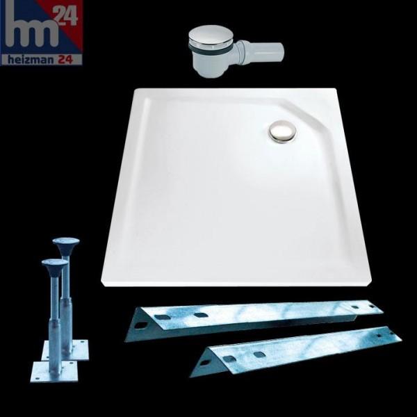 HSK Acryl-Duschwanne Quadrat super-flach ohne Schürze