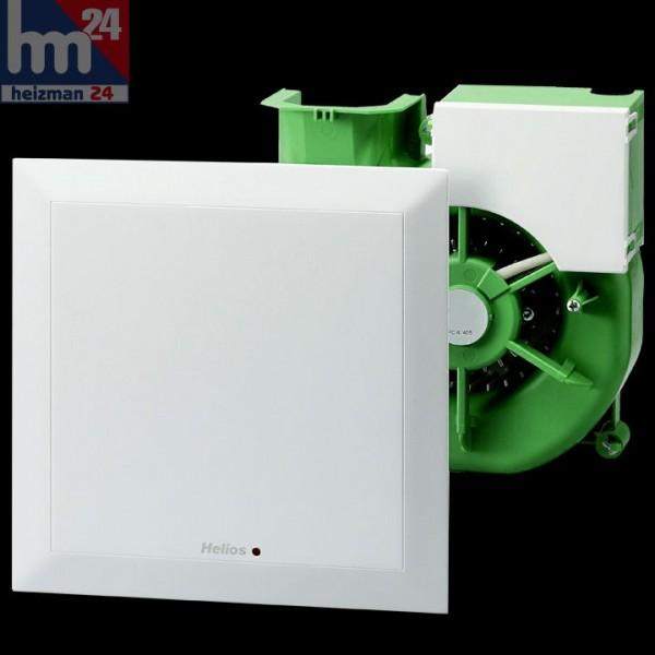 Helios Radial-Ventilatoreinsatz 8138 ELS-VN 100 mit Fassade und Nachlauffunktion