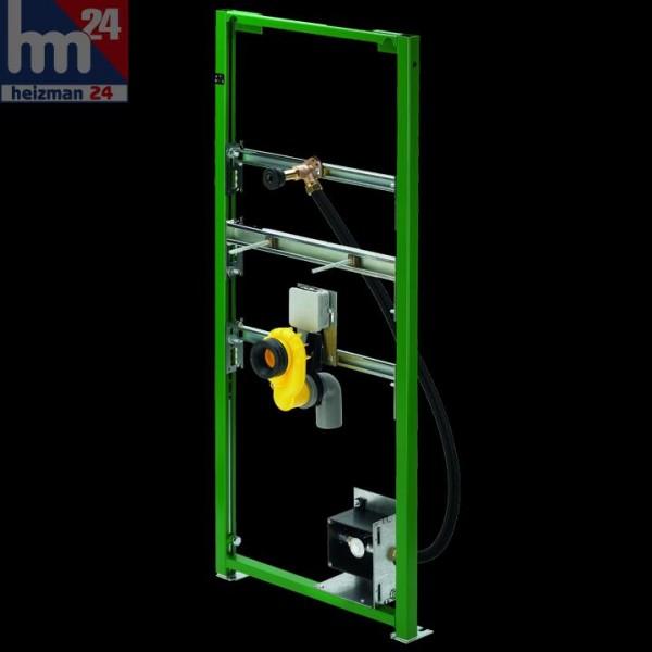 Viega Eco Plus Vorwandelement 655815 für Urinal mit Siphonsensortechnik BH 113 cm