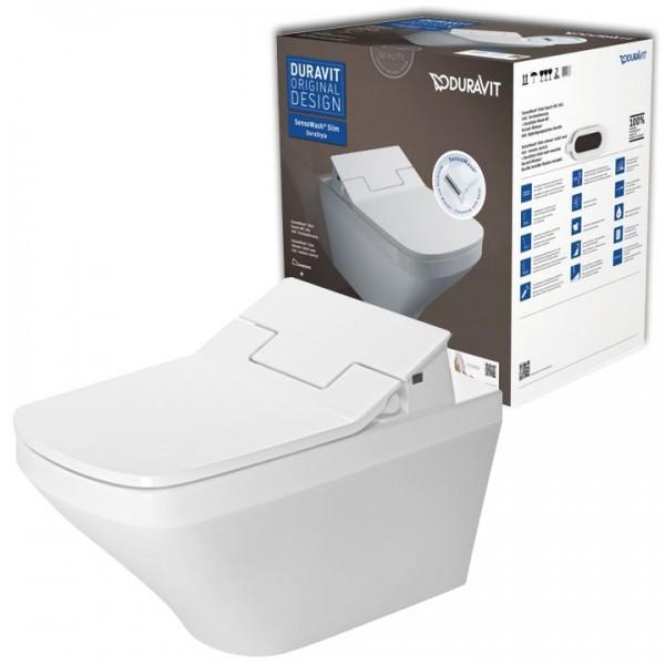 Duravit Set DuraStyle Wandtiefspül-WC inkl. SensoWash Slim Dusch WC-Sitz 631001002004300