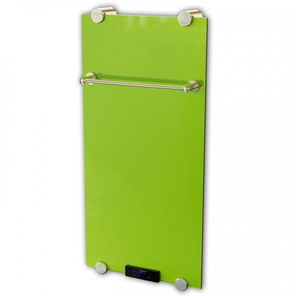 Glasheizkörper/Designheizkörper Verde 1000x500x11 mm 500 Watt inkl. Fernbedienung