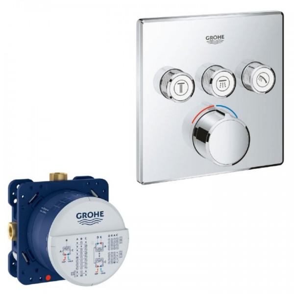 Grohe Smartcontrol Unterputzmischer 29149000 eckig inkl. Rapido Smartbox 35600000