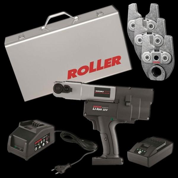 Roller Aktionspaket Multi-Press Mini 22 Volt ACC 578010 inkl. Presszangen Mini V15, V18 u. V22